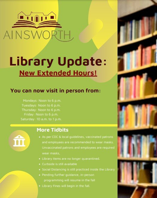 Library Update image