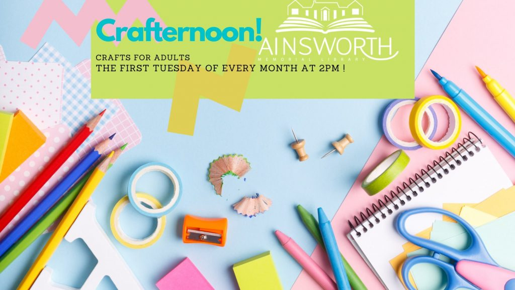 Crafter noon poster.